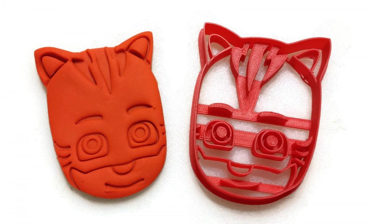 Pj Masks Gekko Owlette Catboy Cookie Cutter Set
