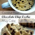 Chocolate Chip Cookie In A Mug No Egg