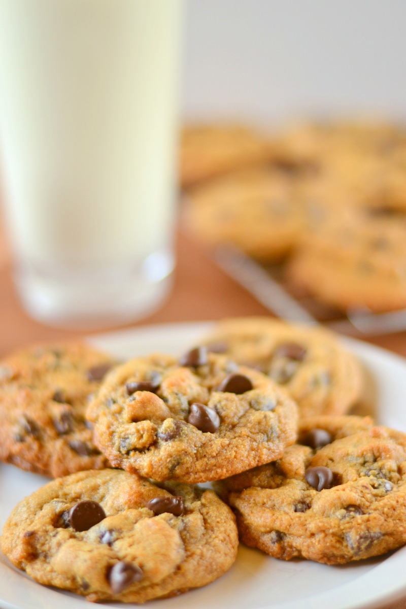 Thick And Chewy 100  Whole Wheat Chocolate Chip Cookies