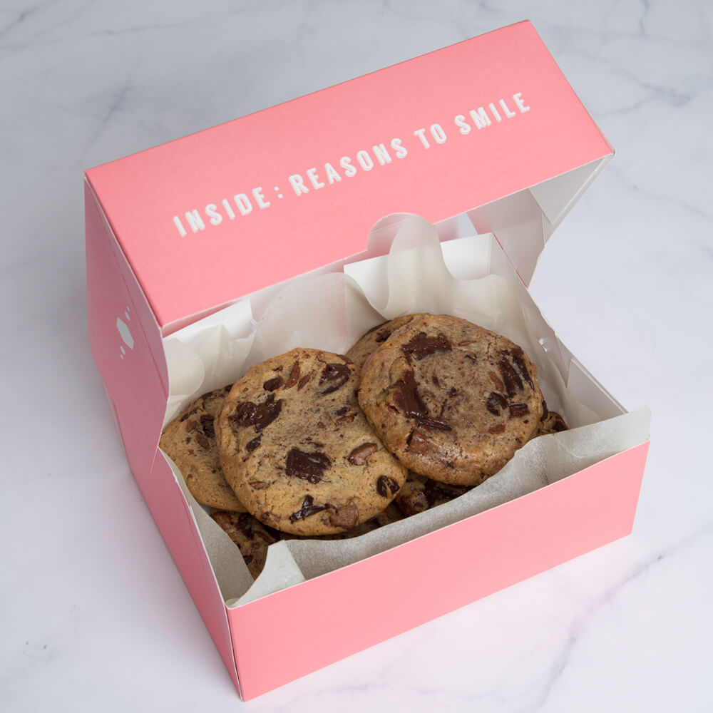 Chocolate Chip Cookies (box Of 6)