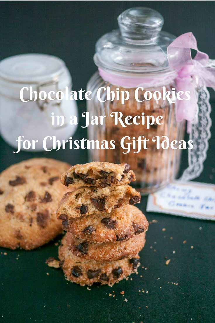 Chocolate Chip Cookie In A Jar Christmas Gift Ideas
