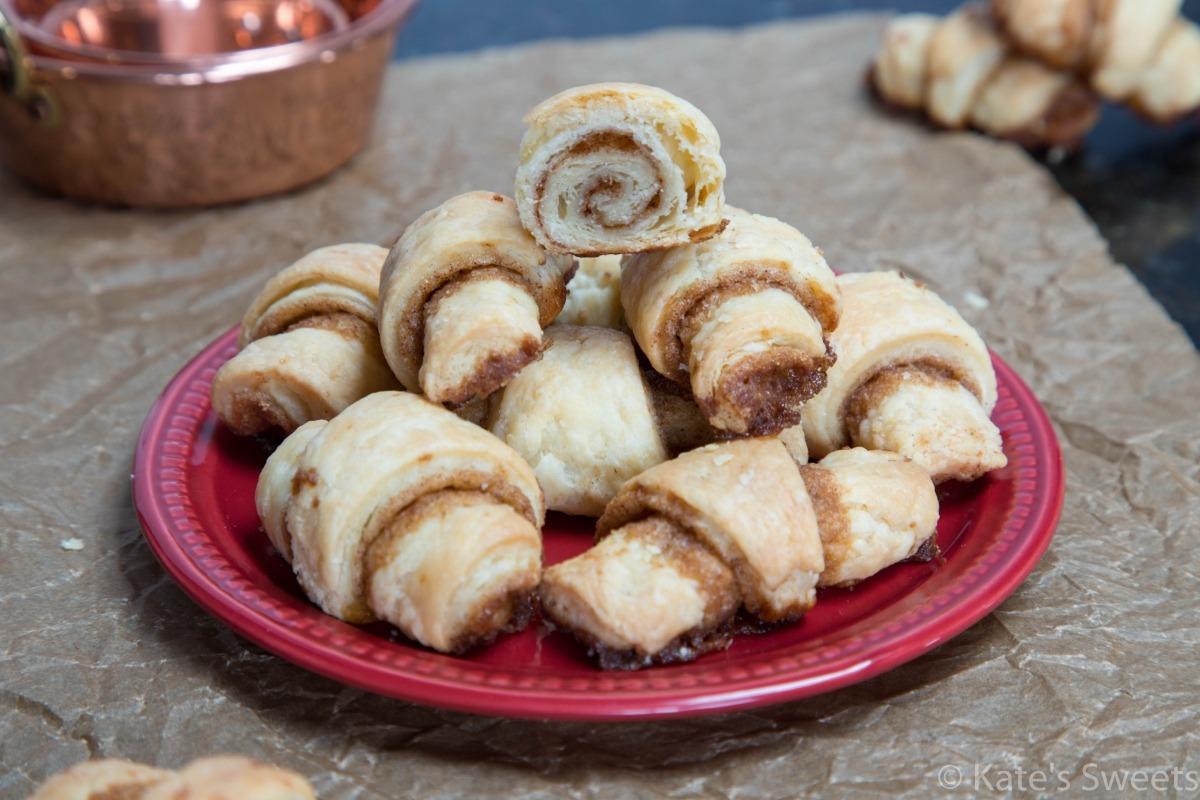 Cinnamon Pie Crust Cookies