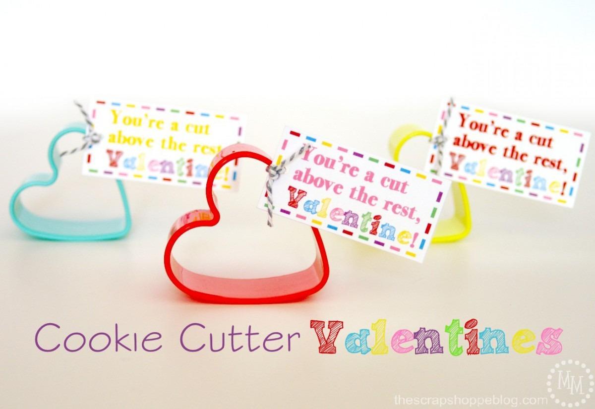 Cookie Cutter Valentines