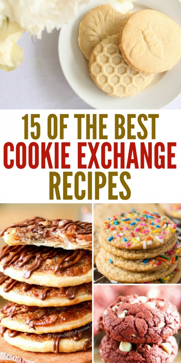 15 Of The Best Cookie Exchange Recipes To Whip Up For Your Party