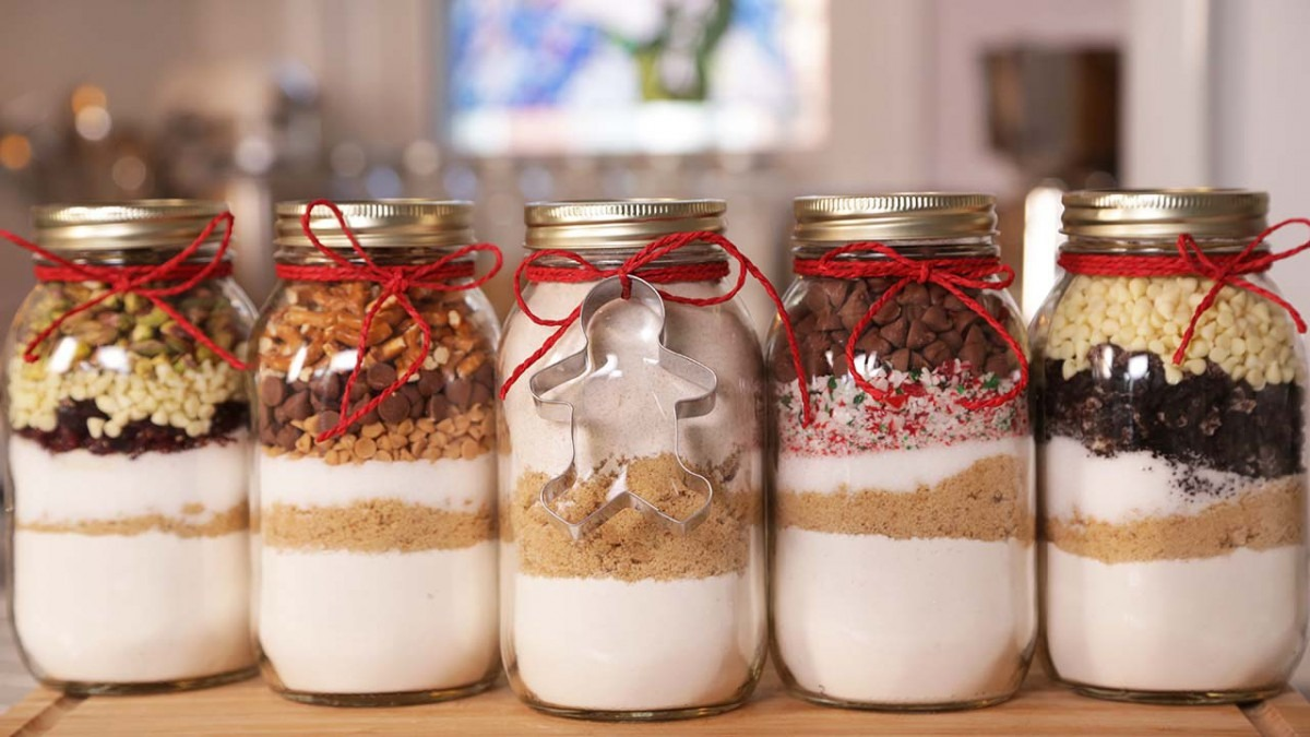 Mason Jar Cookies
