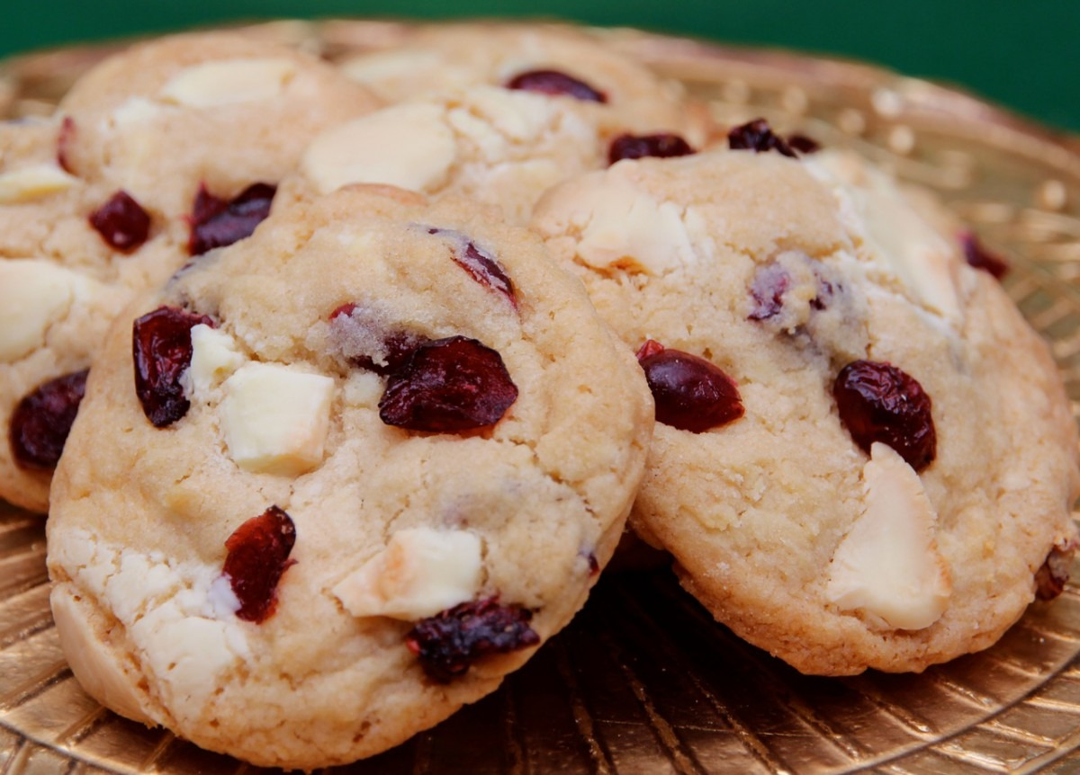 Cranberry And White Chocolate Chunk Cookie Recipe By Chef Michael