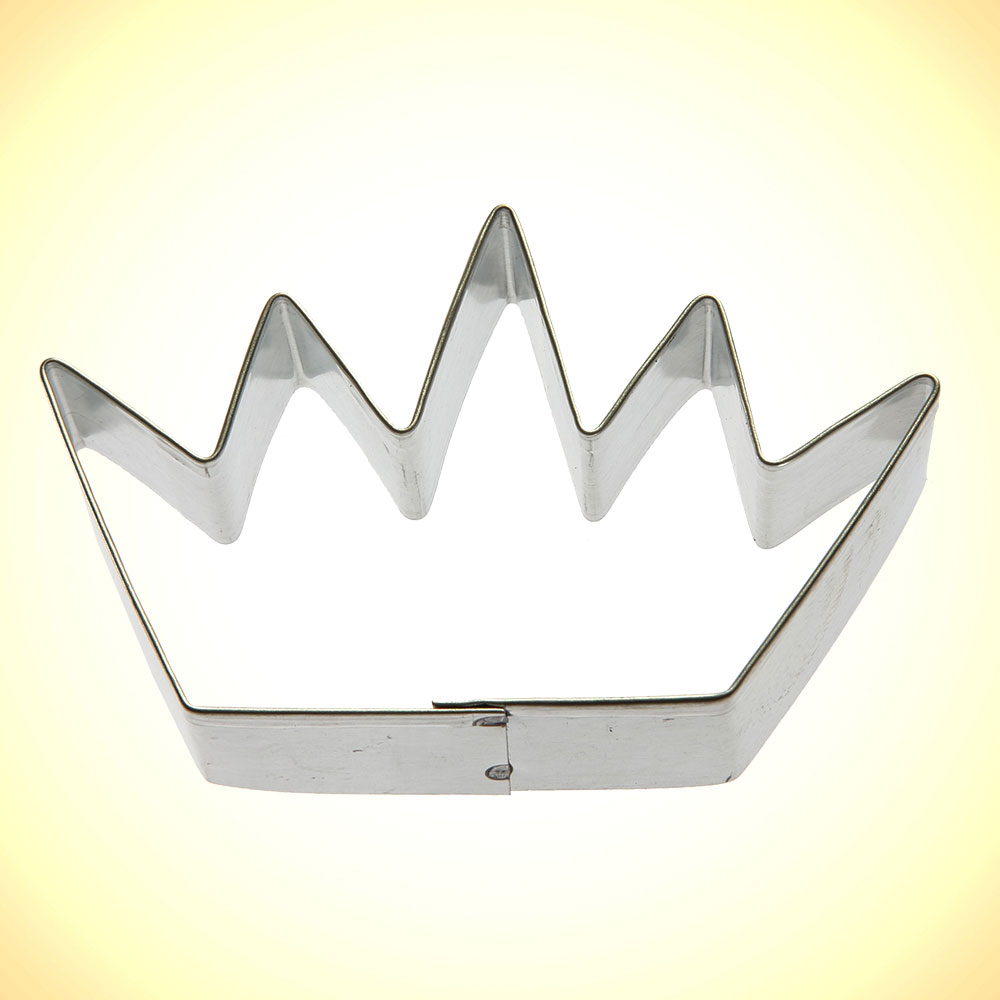 Crown Cookie Cutter 3 5 In
