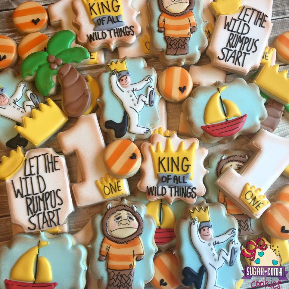 Where The Wild Things Are Cookies