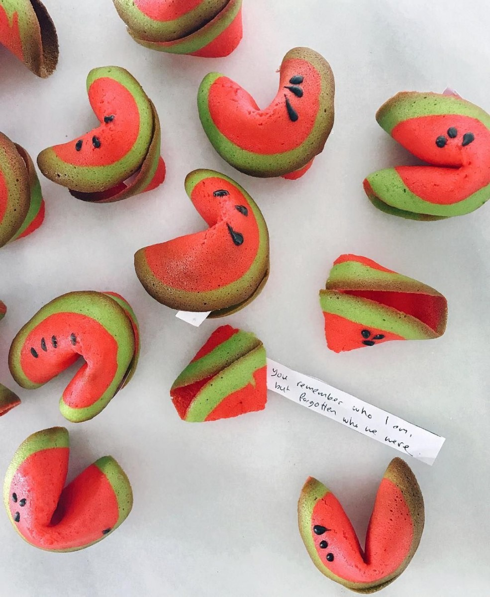 Watermelon Fortune Cookies ^ Rayray (rymondtn)  Fortune For Me