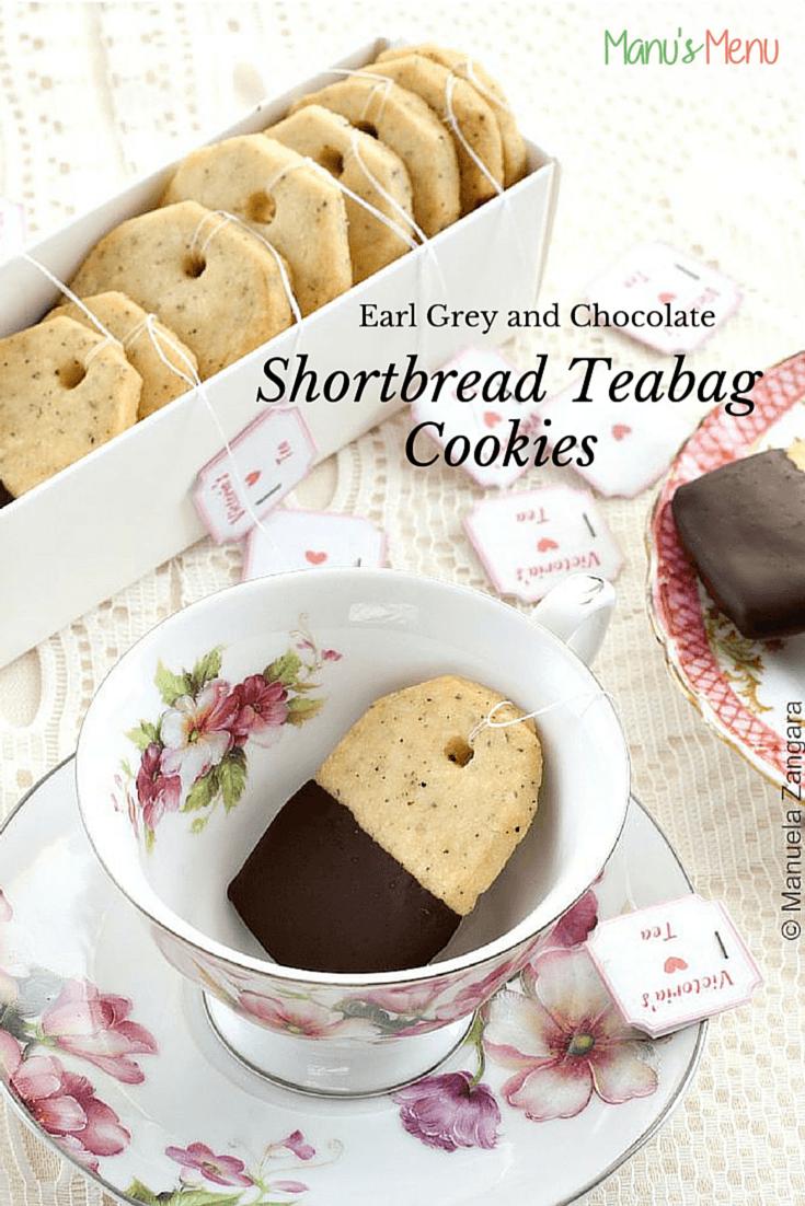 Earl Grey And Chocolate Shortbread Teabag Cookies