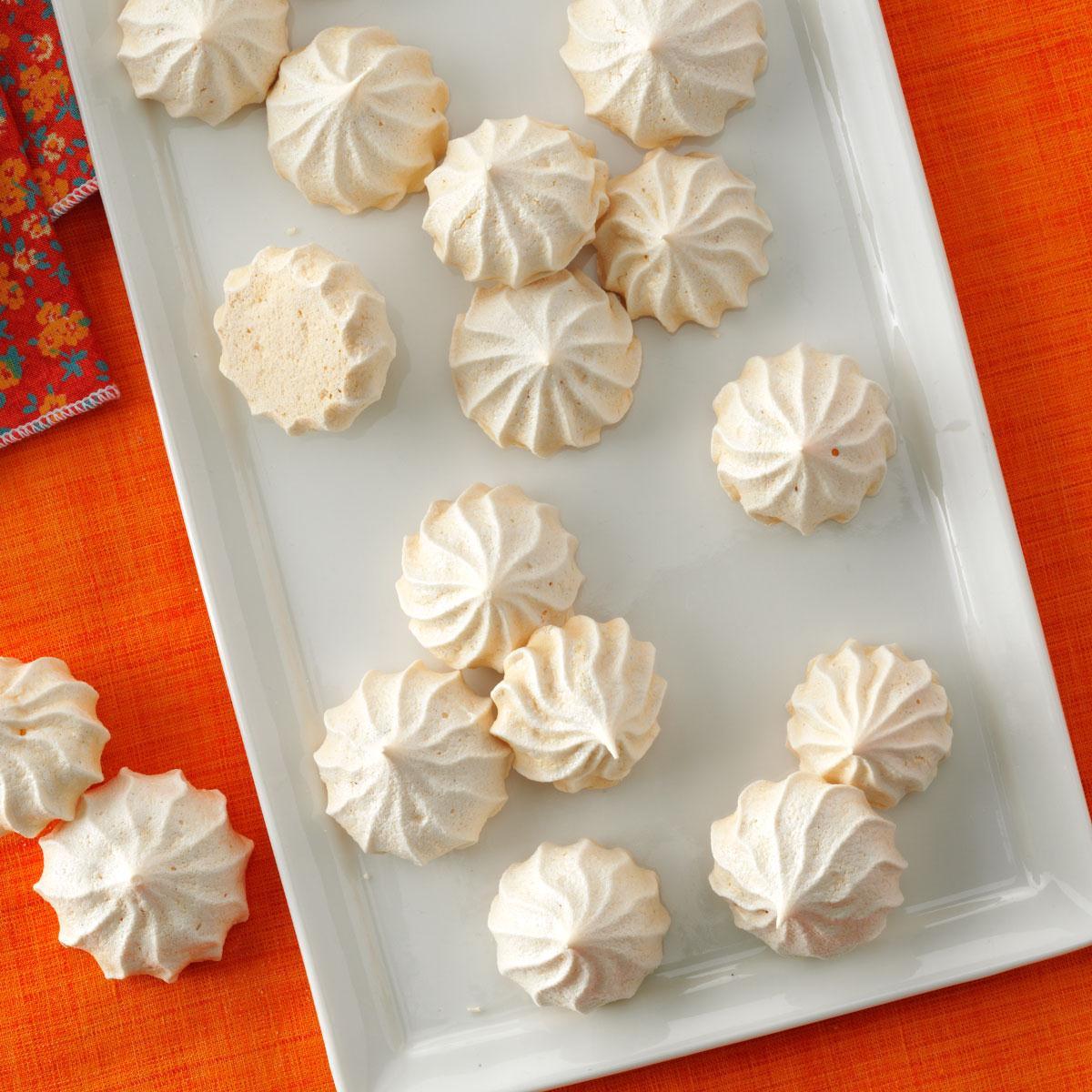 Vanilla Meringue Cookies Recipe