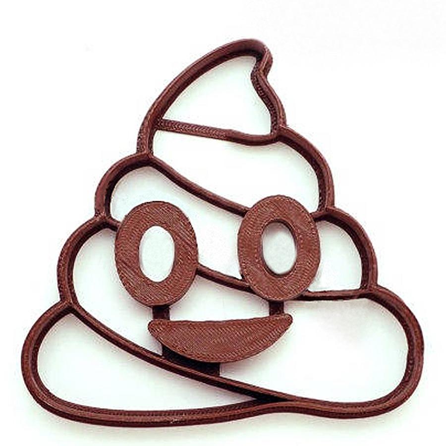 F4m Poop Emoji Cookie Cutter