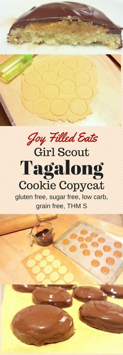 This Tagalong Girl Scout Cookie Copycat Is Gluten Free, Egg Free