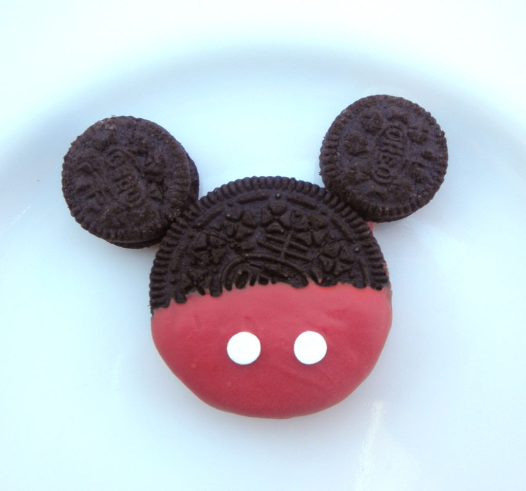 Mickey Mouse Oreos  3 Steps (with Pictures)