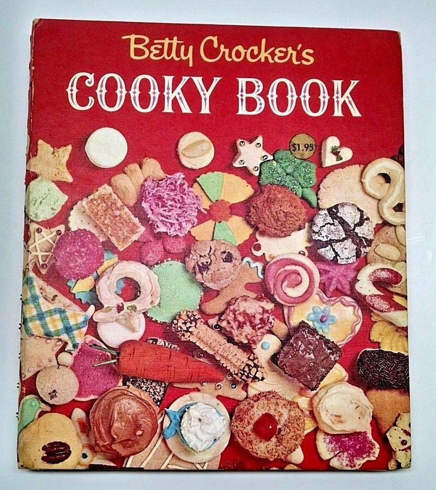 Betty Crocker's Cooky Book Hardback Spiral 1963 First Edition