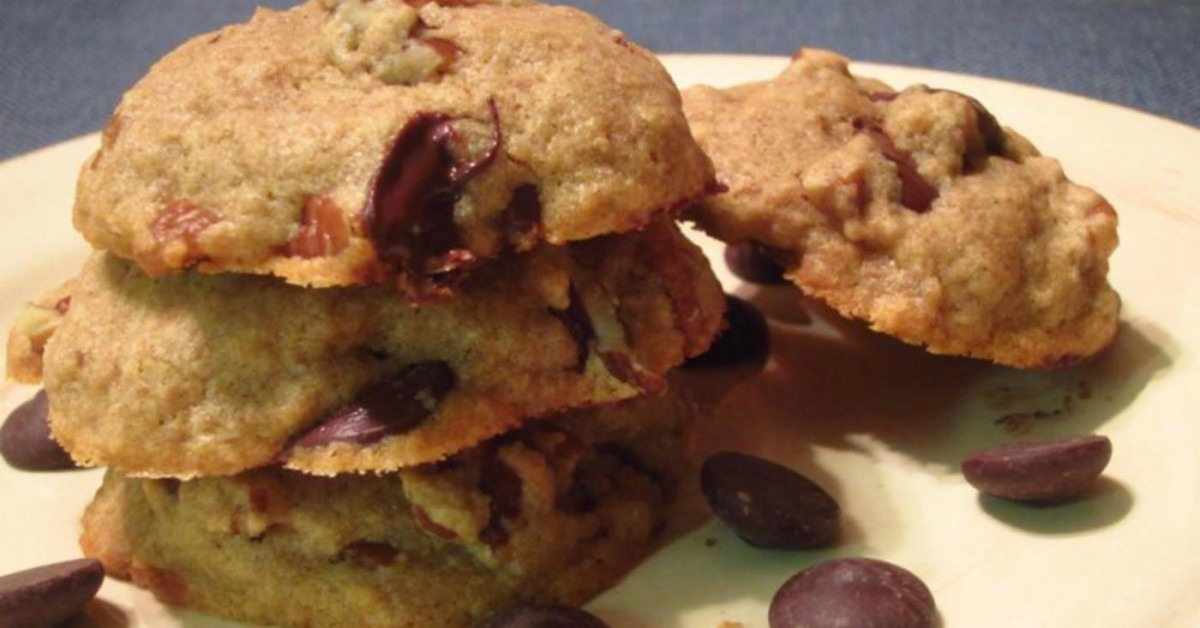 Whole Food Makeover  Chocolate Chip Cookies