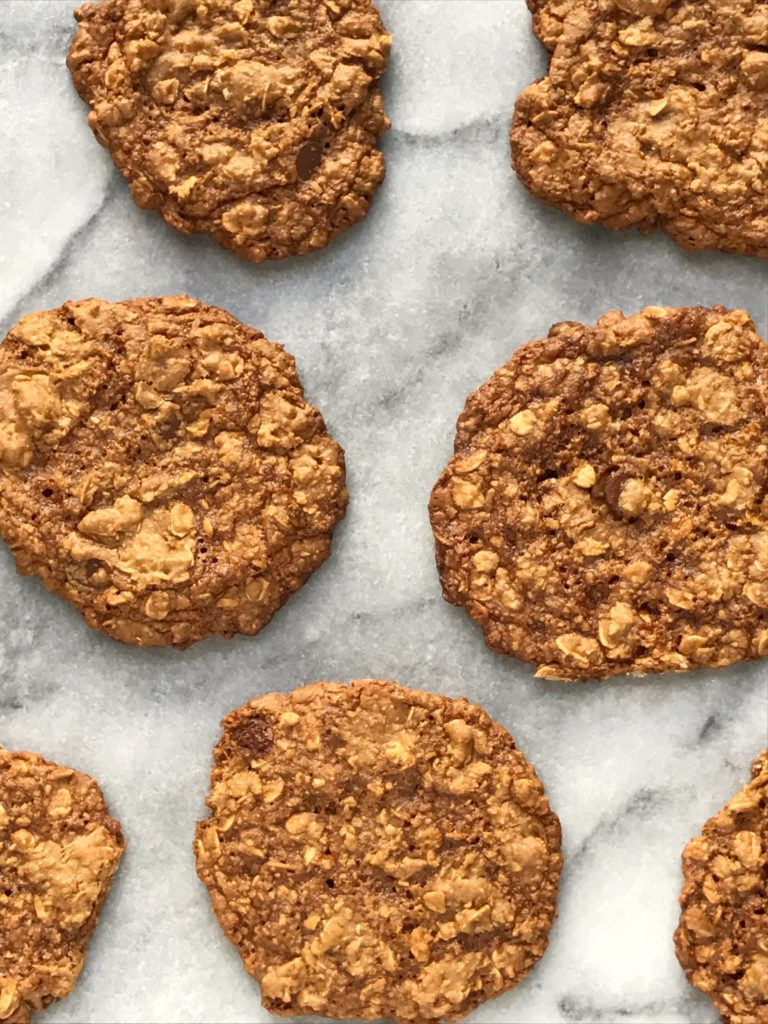Flourless Chocolate Chip Oatmeal Cookies (gluten Free & Dairy Free)