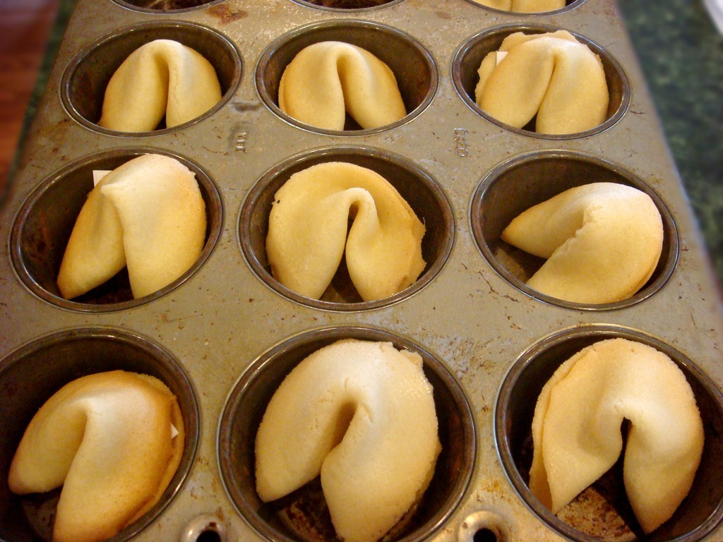 Homemade Fortune Cookies And Thoughts On Japanese Gaman