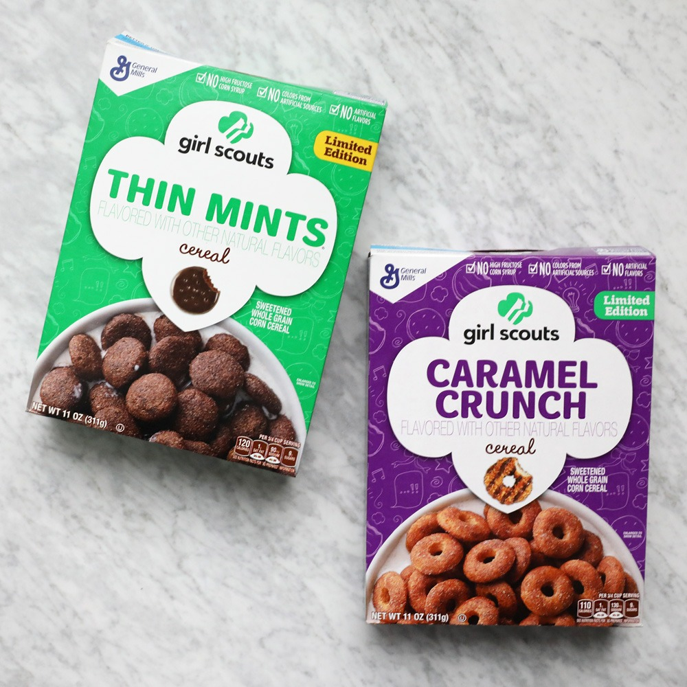 We Ate The Girl Scout Cookie Cereals And You Should Too