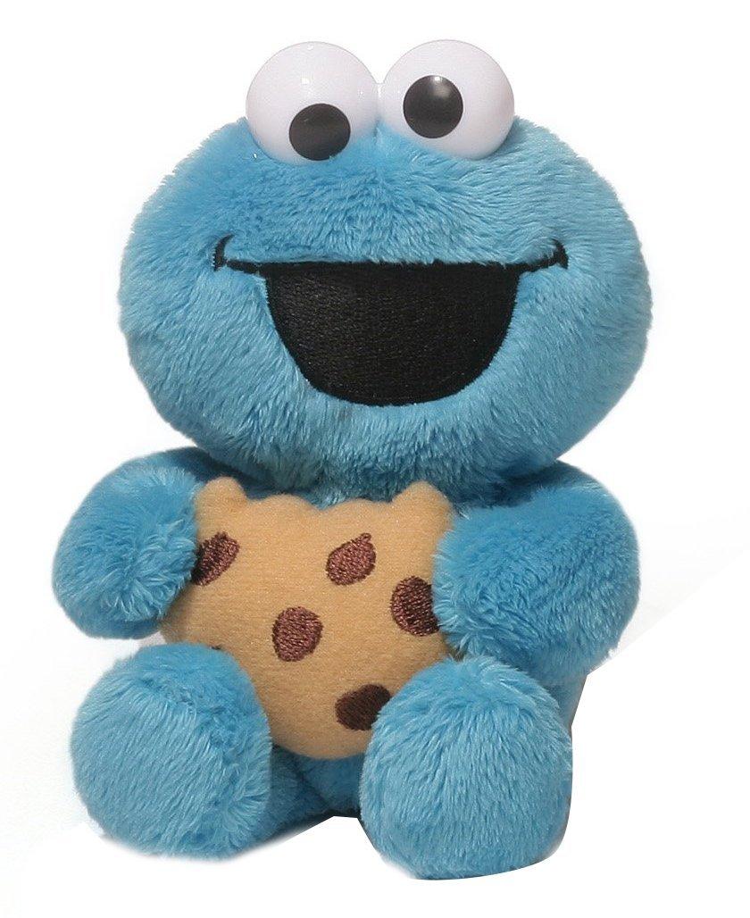 Gund Sesame Street Cookie Monster Foodies Plush 6  Sale 77148