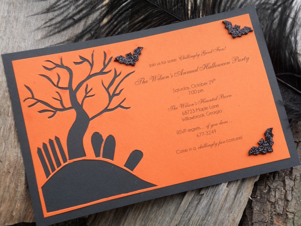 Halloween Party Invitation Ideas Homemade – Festival Collections