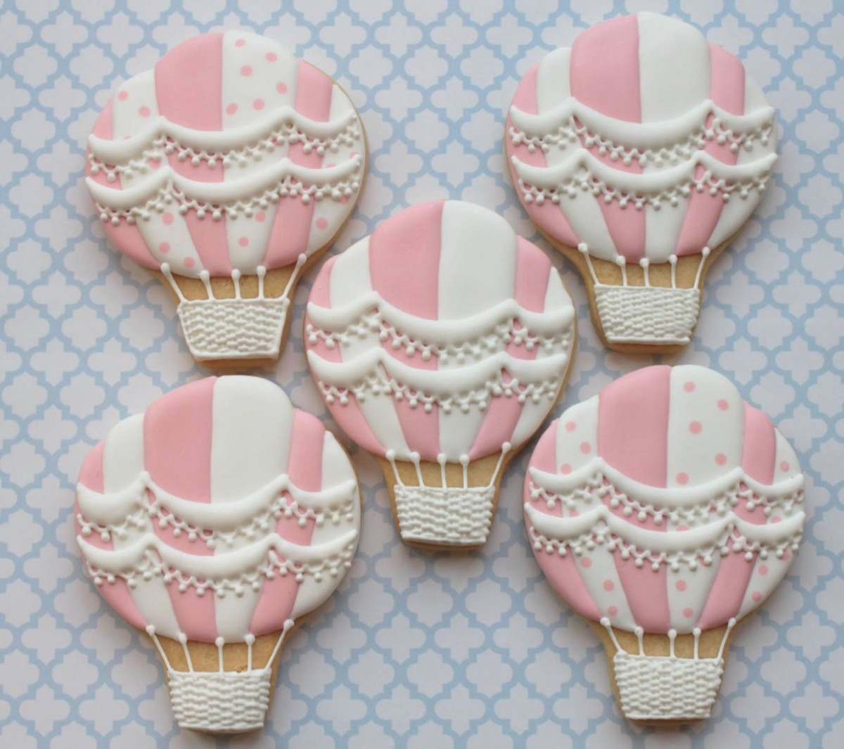 Tutorial  Hot Air Balloon Biscuits
