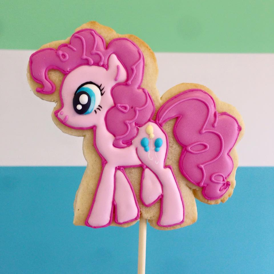 My Little Pony Cookie Pops By Jessie Edwards