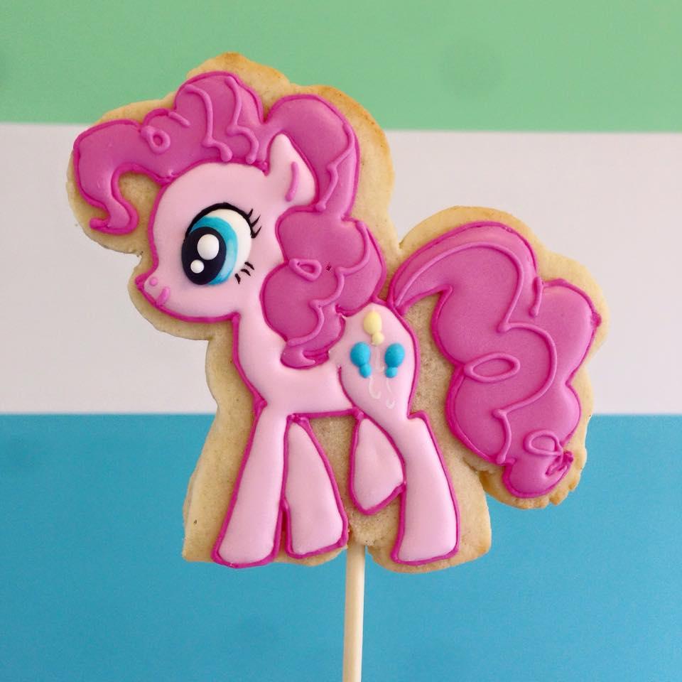 My Little Pony Cookie Pops By Jessie Edwards