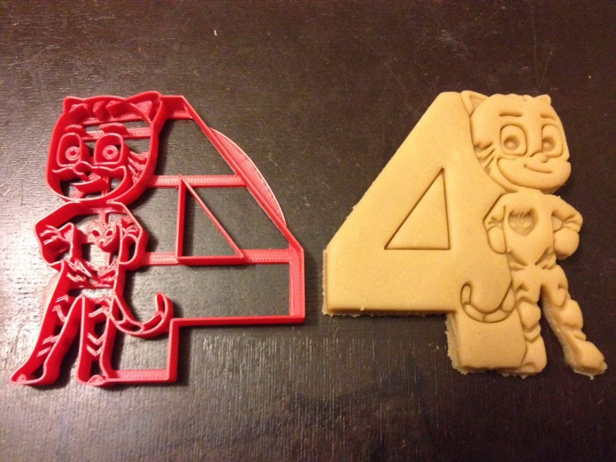 Catboy Pj Masks Cookie Cutter Next To The Number 4  Perfect