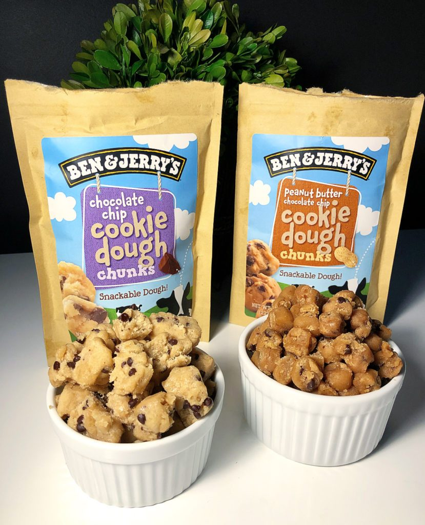 Review  Ben & Jerry's Snackable Cookie Dough