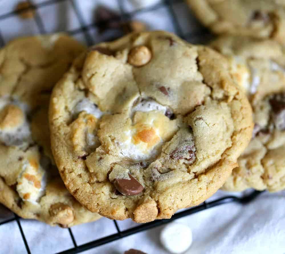 Omg Peanut Butter Marshmallow Cookies