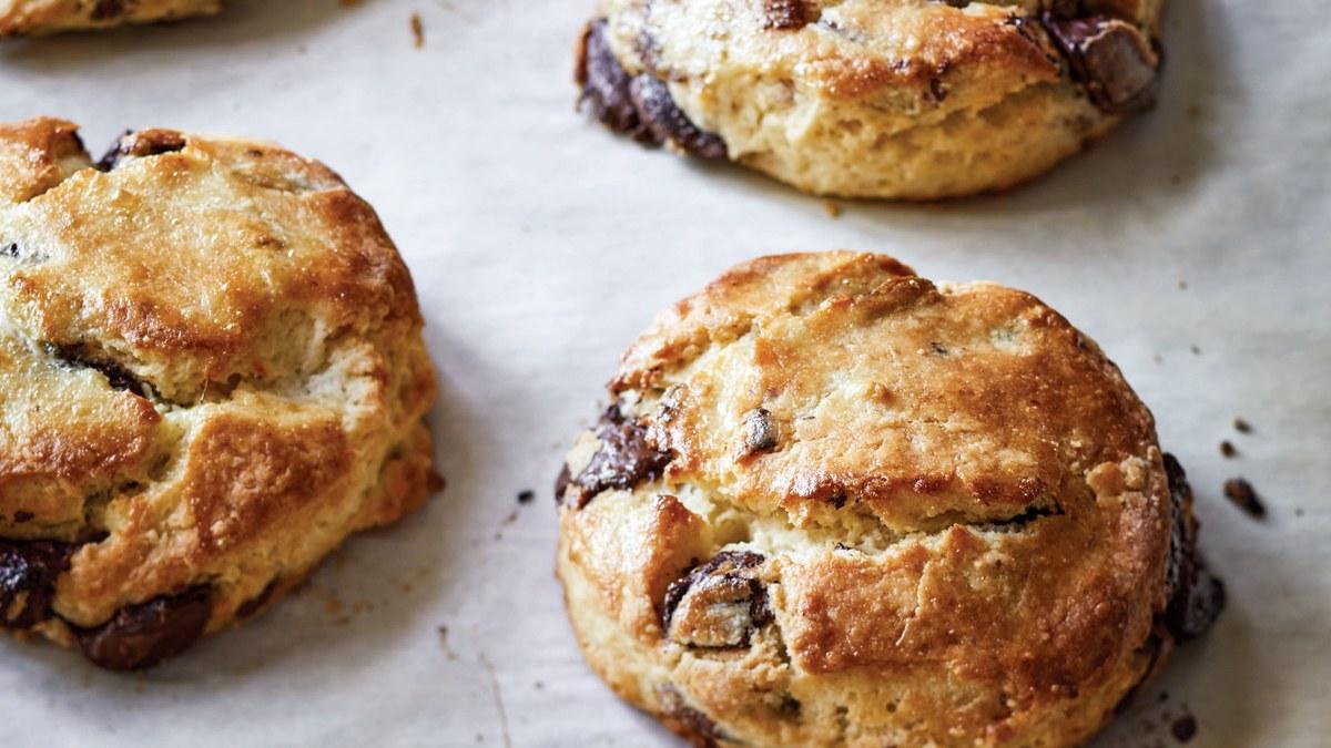 Ina Garten's Chocolate Pecan Scones Recipe Recipe