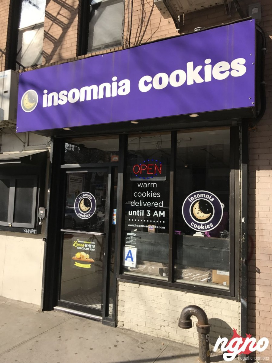 Insomnia Cookies New York City    Nogarlicnoonions  Restaurant