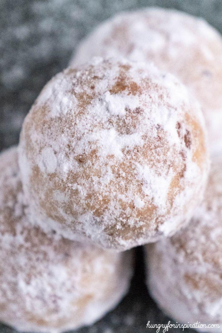 Keto Pecan Snowball Cookies (keto Christmas Cookies)