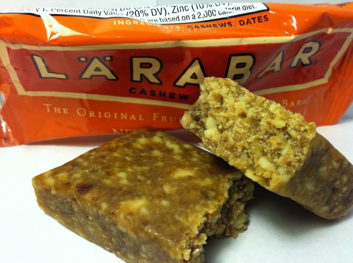 Crazy Food Dude  Review  Larabar Cashew Cookie Food Bar