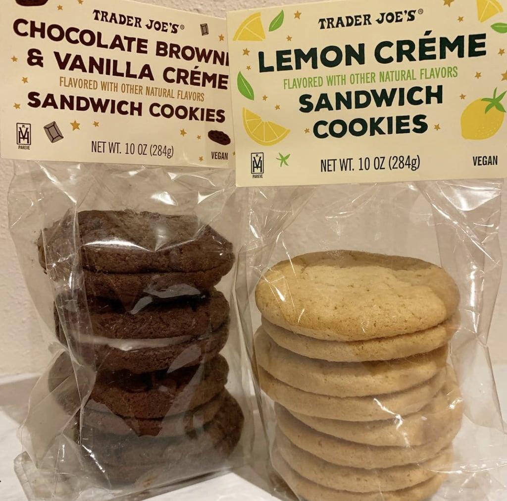 Trader Joe's Vegan Sandwich Cookies