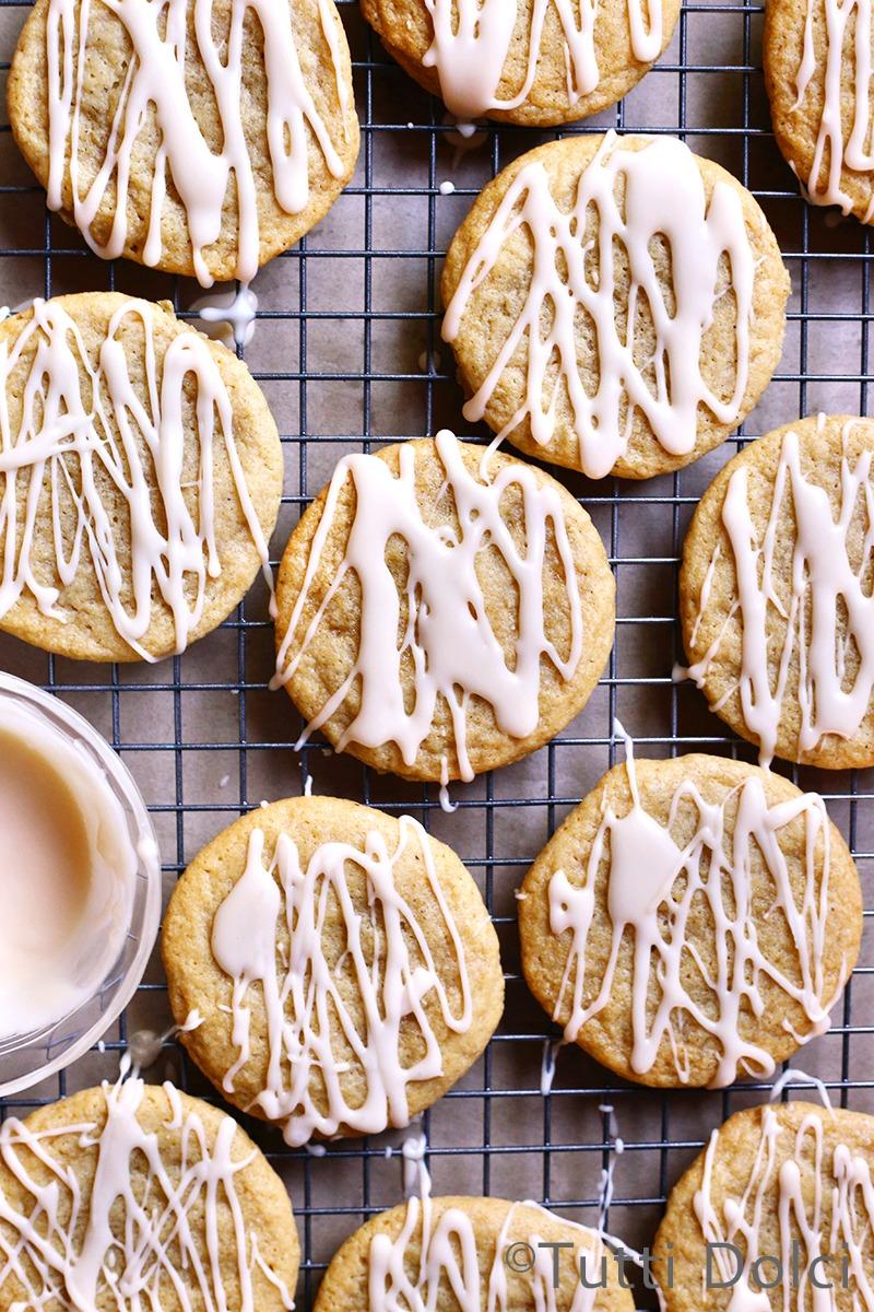 Maple Brown Butter Sugar Cookies