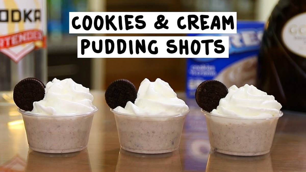 Cookies And Cream Pudding Shots