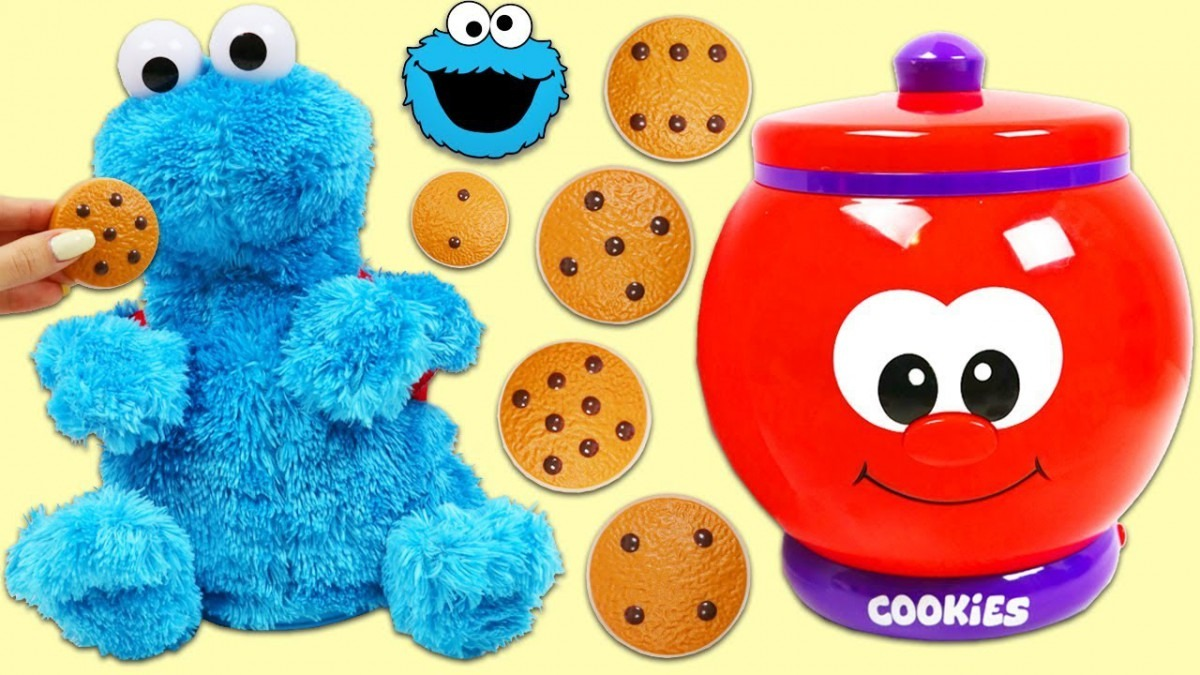 Learn To Count With Sesame Street Cookie Monster & Talking Cookie