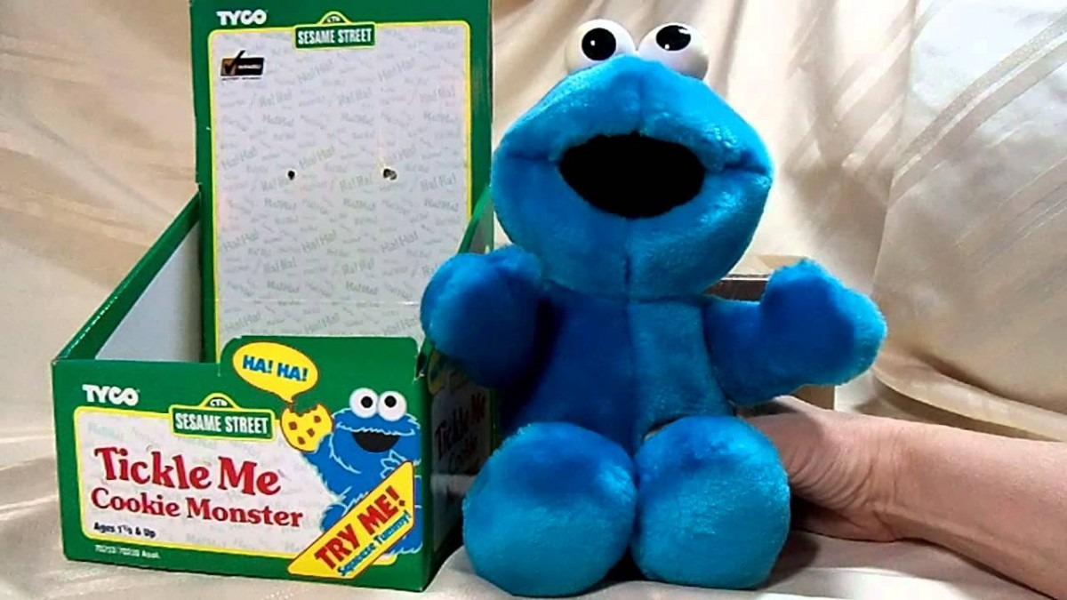 Tickle Me Cookie Monster