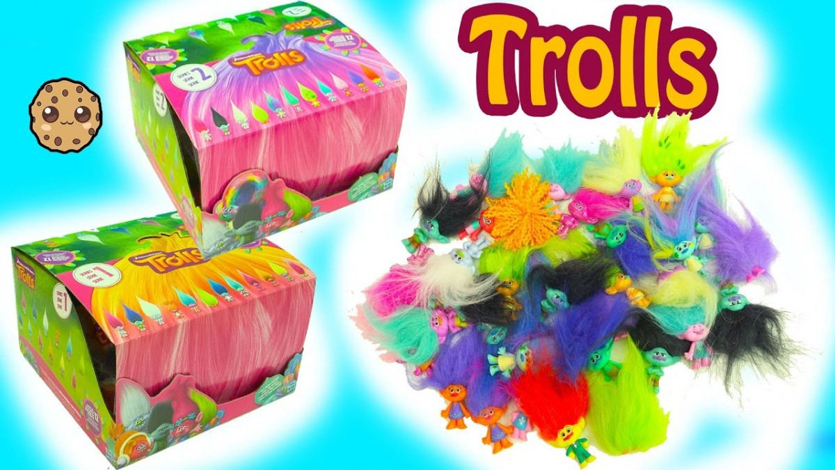 Dreamworks Trolls Blind Bag Boxes Series 1 + 2 Surprises