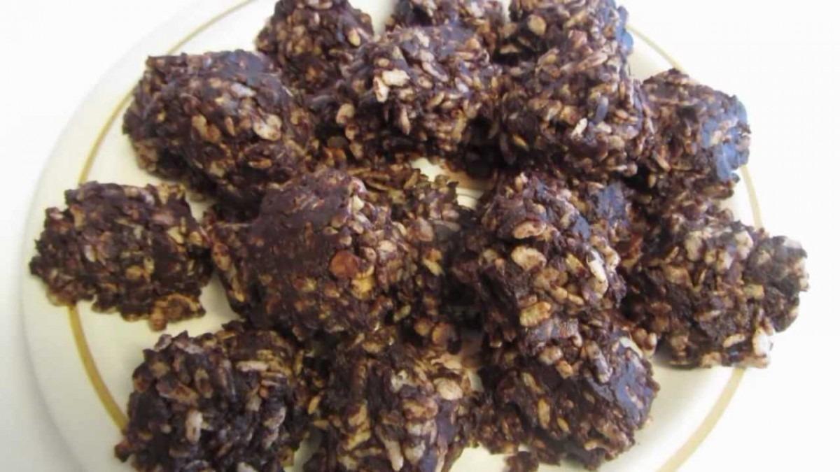 Rice Krispie Chocolate Peanut Butter Gluten Free No Bake Cookies