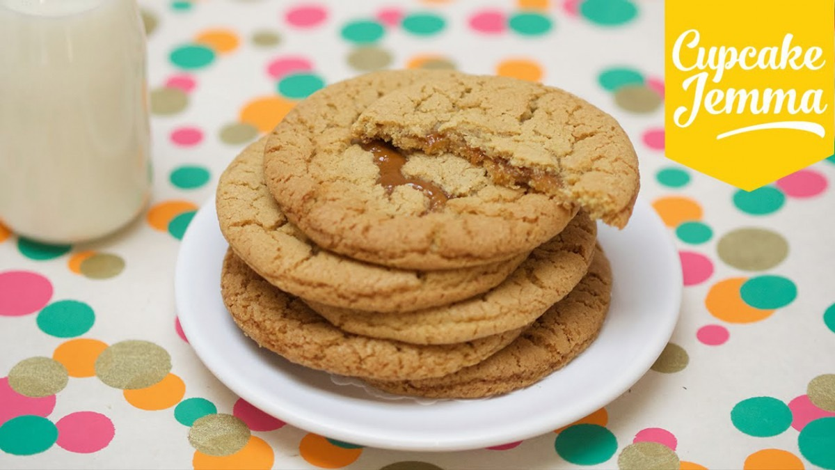 Chewy Salted Caramel Cookie Recipe