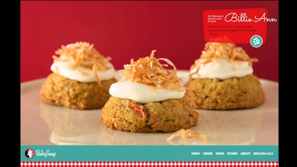 Ruby Snap Cookies