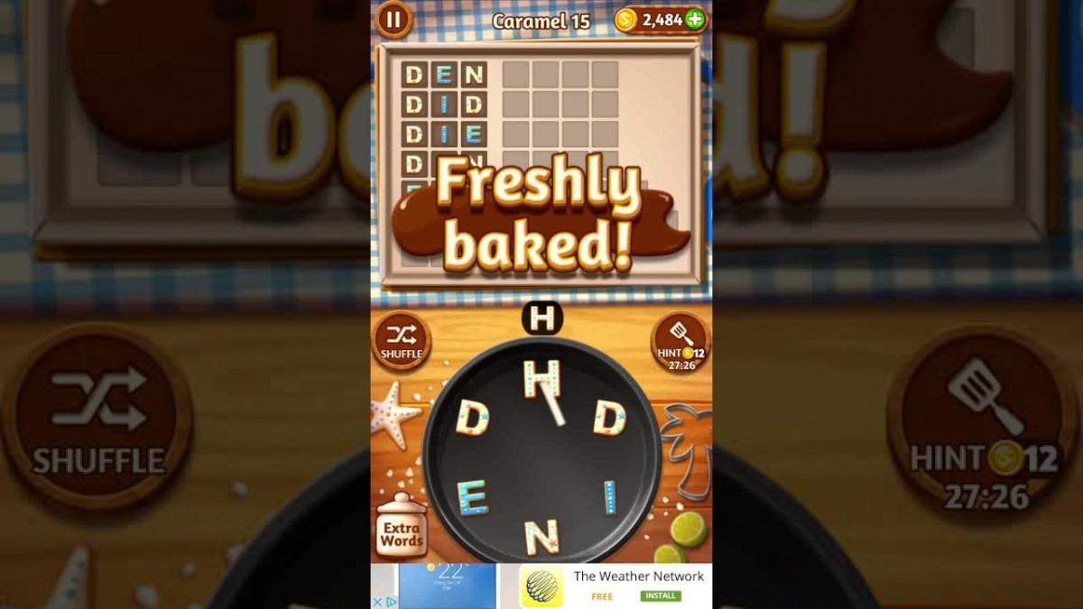 Word Cookies Caramel 15