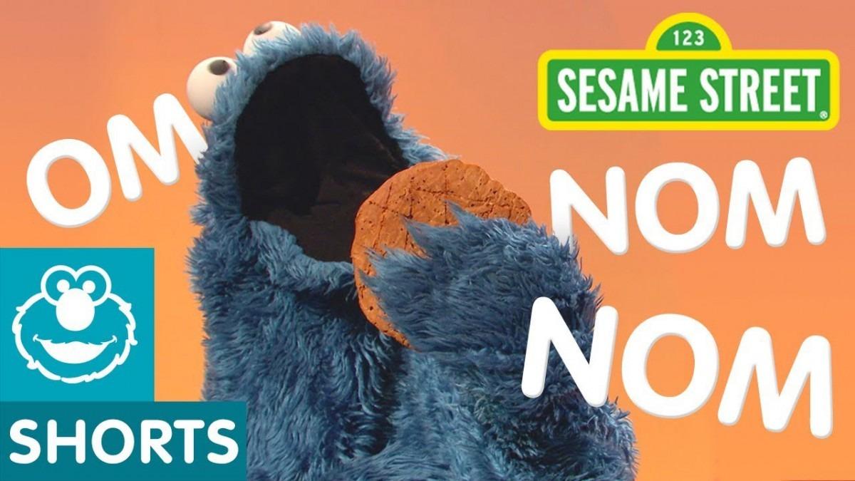 Sesame Street  Cookie Monster Eating Mashup