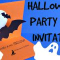Homemade Halloween Party Invitations