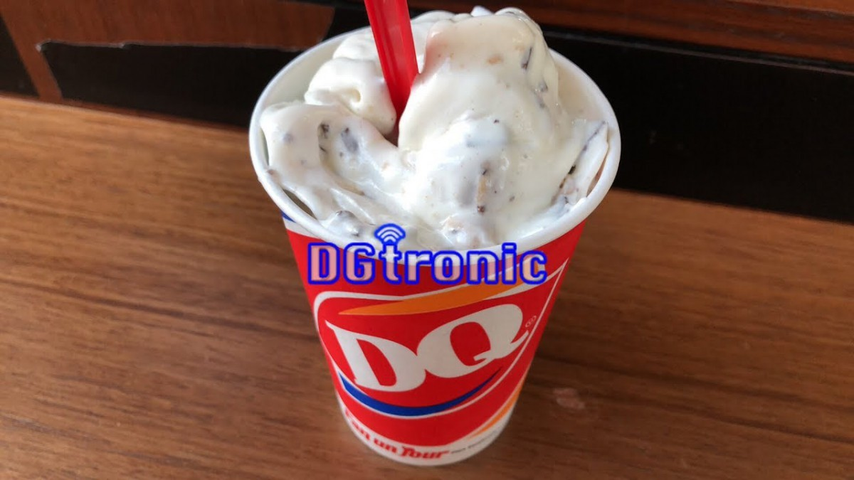 Dairy Queen Peanut Butter Cookie Dough Blizzard Review