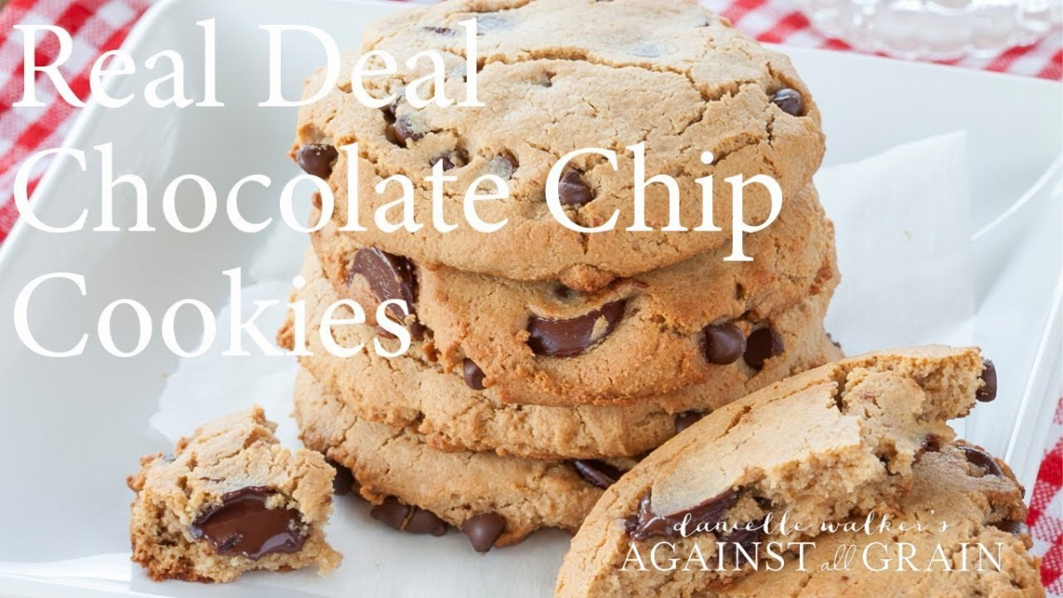 Real Deal Chocolate Chip Cookies