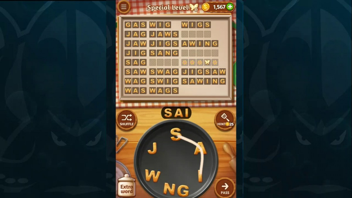 Word Cookies Walkthrough Espresso Level 5 Special Level Solved